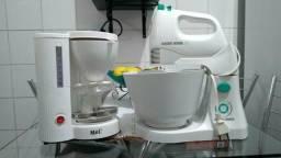 Batedeira e cafeteira
