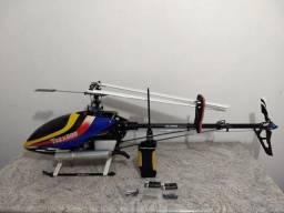 TRex 600 Nitro -Aceito trocar-Aeromodelo-Drone-Câmera Profissional