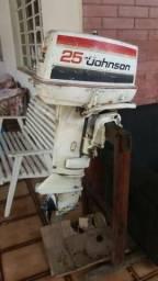 Vendo motor Johnson 25hp