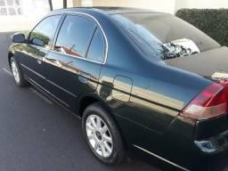 Civic 2003 completo Verde escuro - 2003