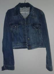 Jaqueta jeans usada