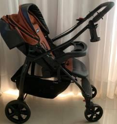 Carrinho de Bebê Primus K - Terracota - Burigotto