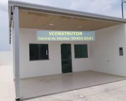 Alugo casa nova 2 dormitórios próx Av das Torres