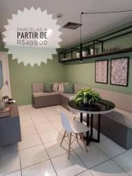 LA* Minha Casa Minha Vida/2Qts/Condomínio/Fgts/Financia