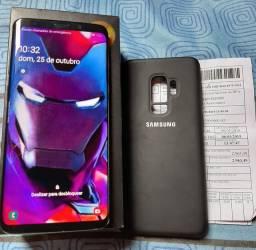 S9 plus 128 gb com note semi novo