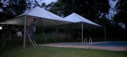 Aluguel de tendas piramidais
