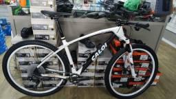 Bike caloi elite racing tamanho 19 carbono 7.900 12x cartao