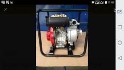 Motobomba A Diesel Bd-710 Cf 5,0cv Partida Manual Branco