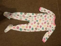 Macacão Carters menina fleece