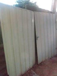 Portão de Aço pintado