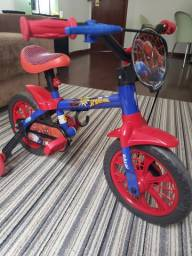 Bicicleta CALOI Homem Aranha