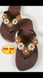 Sandália costumizada