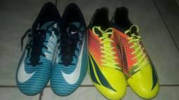 Chuteiras Penalty e Nike ZERADAS NUNCA USADA
