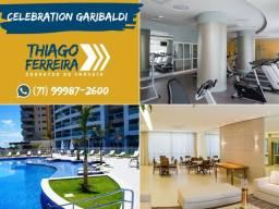 Celebration Garibaldi, 1 quarto em 59m² no Rio Vermelho