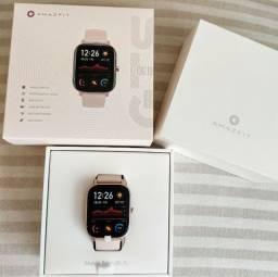 Smartwatch Xiaomi Amazfit Gts 44mm A1914 Dourado Global