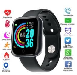 Relógio Smart Watch Y68 D20 com Bluetooth USB notificações