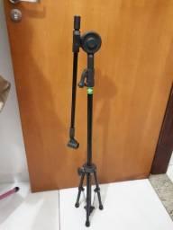Pedestal mic + Cachimbo