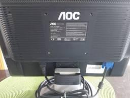 "Monitor AOC 16"" TFT17W80PSA com cabos"