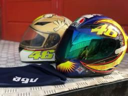 Dois capacete AGV