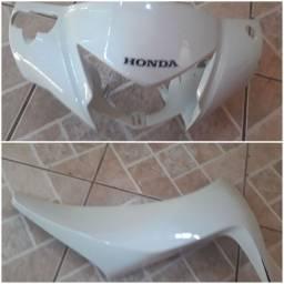 Carenagem Honda Biz 125 Branca 2019 Original
