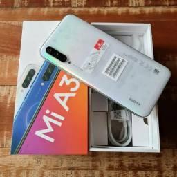Xiaomi Mi A3 64gb cartão 4x sem juros caixa completo aceito celular como pagto