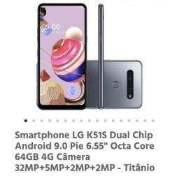 Smartphone LG K51s Titanio
