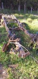 Chassis e peças da Ranger