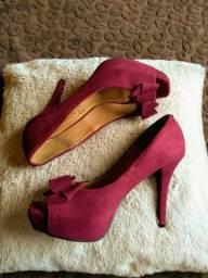 Sapatos femininos 4 pares