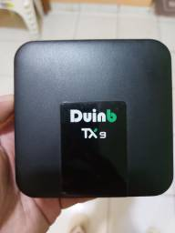 Tv box duinb  tx9 semi novo