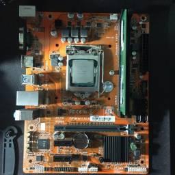 Kit i3 7100+water cooler evga+Hds 1tb e 500gb