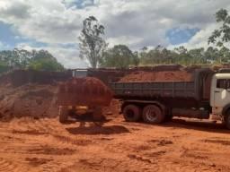 Aterro Limpo, Barro Vermelho p/ Obras em Gerais - Tk Terraplanagem Nova Andradina - MS