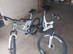 Vende se essas duas  bicicletas