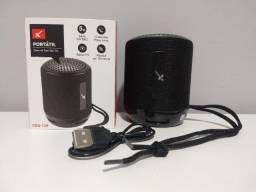 Caixinha De Som Portátil Xtrad Xdg-129 Sem Fio Bluetooth Usb
