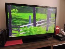 TV Lcd Sony Bravia 40 polegadas (Perfeito estado) + 4 óculos 3D (Novos)