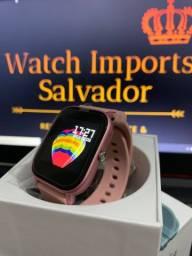 Relógio celular feminino SmartWatch P8