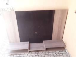 Painel cinza com preto