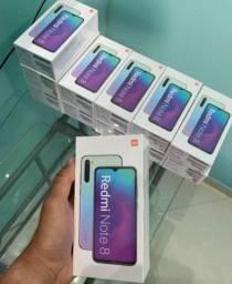 Smartphone lacrado xiaomi note 8 64gb 4gb de ram