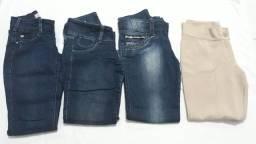 Lote de roupas pra bazar ou brechó.