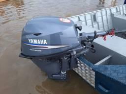 Barco carretinha e motor