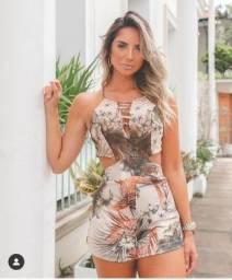 Macaquinho Tropical fashion