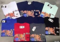 Camiseta Quiksilver em atacado - pacote com 10 camisetas para revender