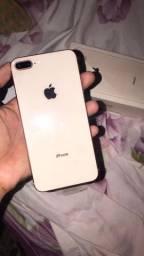 IPhone 8 Plus NOVO/NUNCA USADO!!!