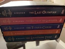 Kit livros em inglês Herois do Olimpo