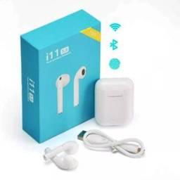 Fone De Ouvido I11 TWS Bluetooth 5.0 com Case Carregador