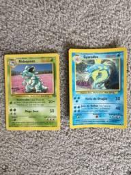 Cartas Pokémon primeira edição