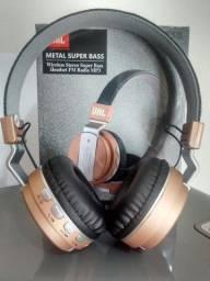 Headphone Jbl Sem Fio Promoção C/ Bluetooth Metal Bass