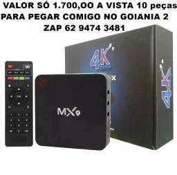 TV box Mx9 4 de Ram novos no atacado 10 Peças somente