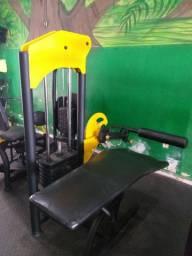 2 máquinas de academia