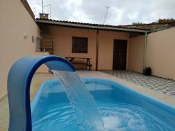 Casa com Piscina por Temporada - Ilha da Croa - Barra de Santo Antônio