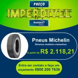Pneu Michelin - Liso e Borrachudo